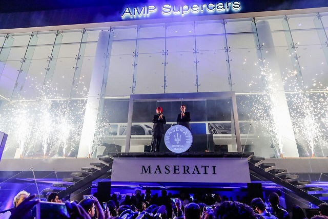 Maserati opens first dealership in New Delhi, India