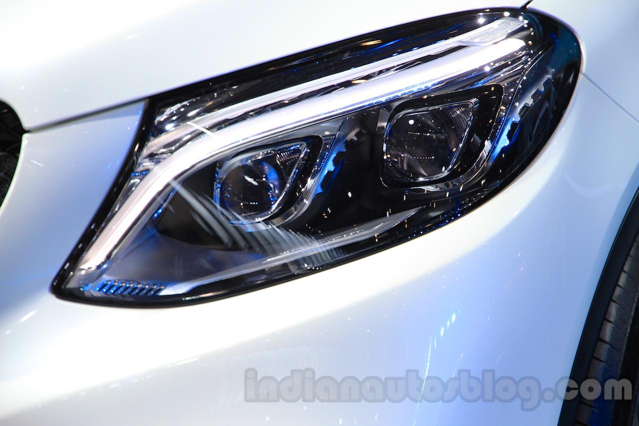 Mercedes-AMG GLE 63 Coupe headlight at the 2015 Chengdu Motor Show