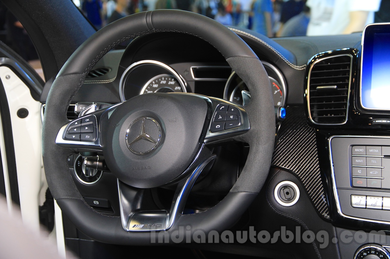 Mercedes-AMG GLE 63 Coupe steering at the 2015 Chengdu Motor Show
