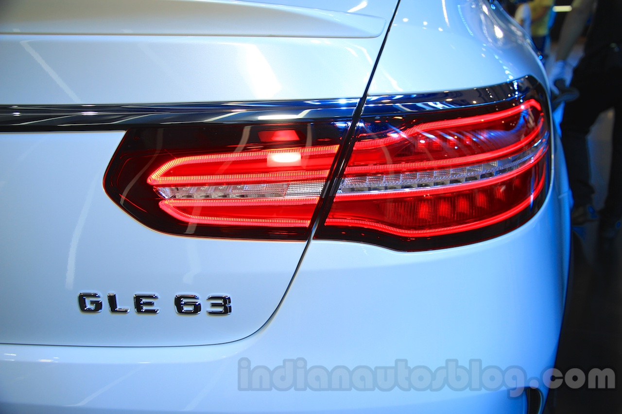 Mercedes-AMG GLE 63 Coupe taillight at the 2015 Chengdu Motor Show
