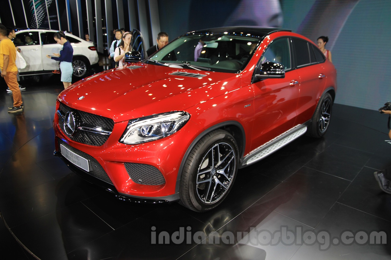 Mercedes-Benz GLE 450 AMG Coupe front quarter at the 2015 Chengdu Motor Show