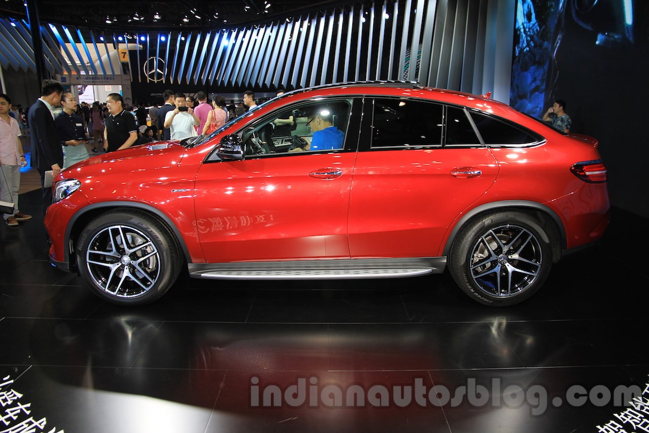 Mercedes-Benz GLE 450 AMG Coupe side at the 2015 Chengdu Motor Show
