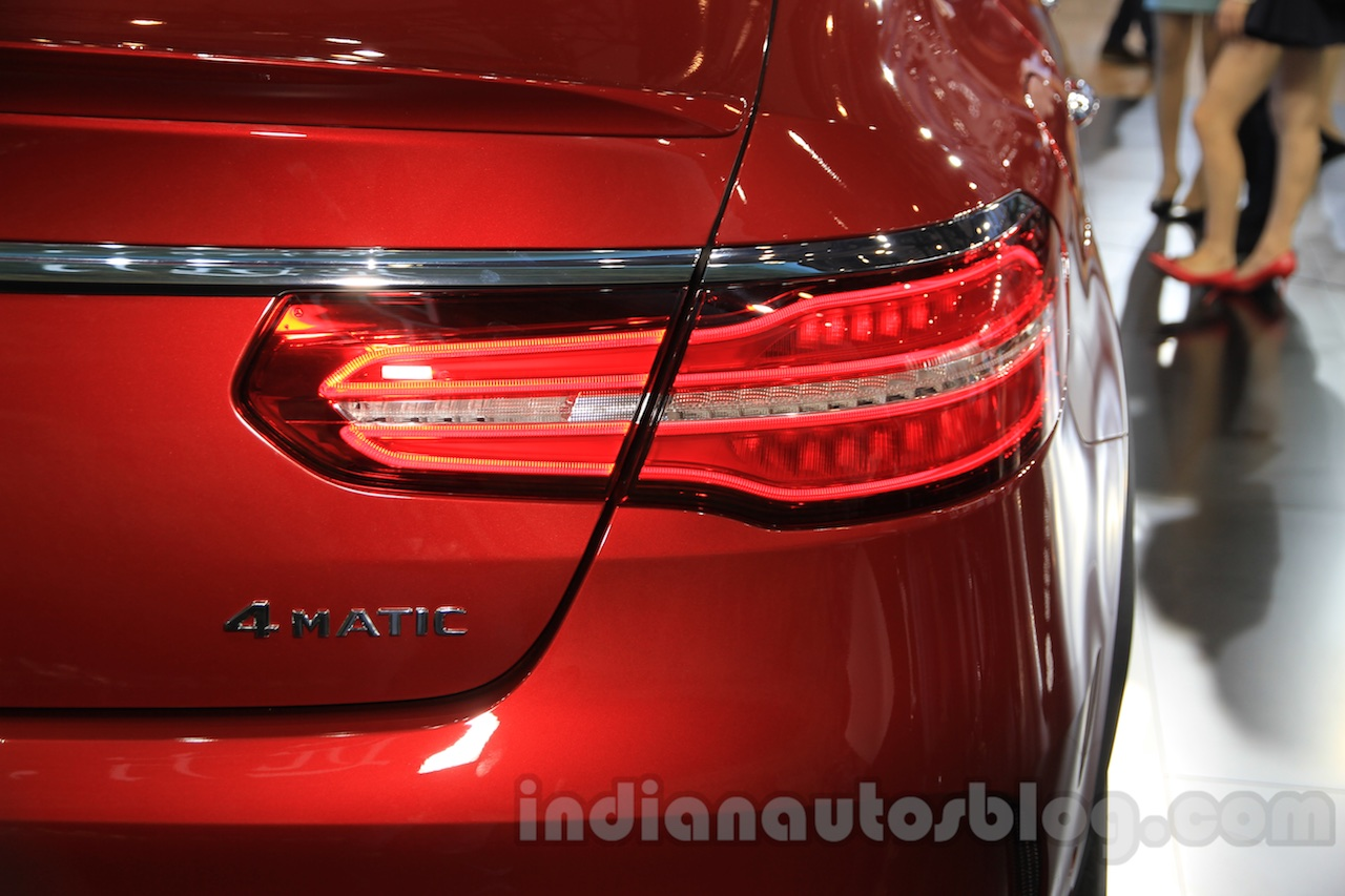 Mercedes-Benz GLE 450 AMG Coupe taillights at the 2015 Chengdu Motor Show