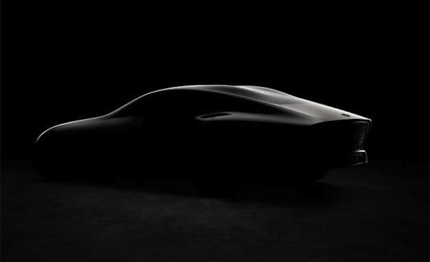 Mercedes Concept IAA (Concept Intelligent Aerodynamic Automobile) rear three quarter teaser