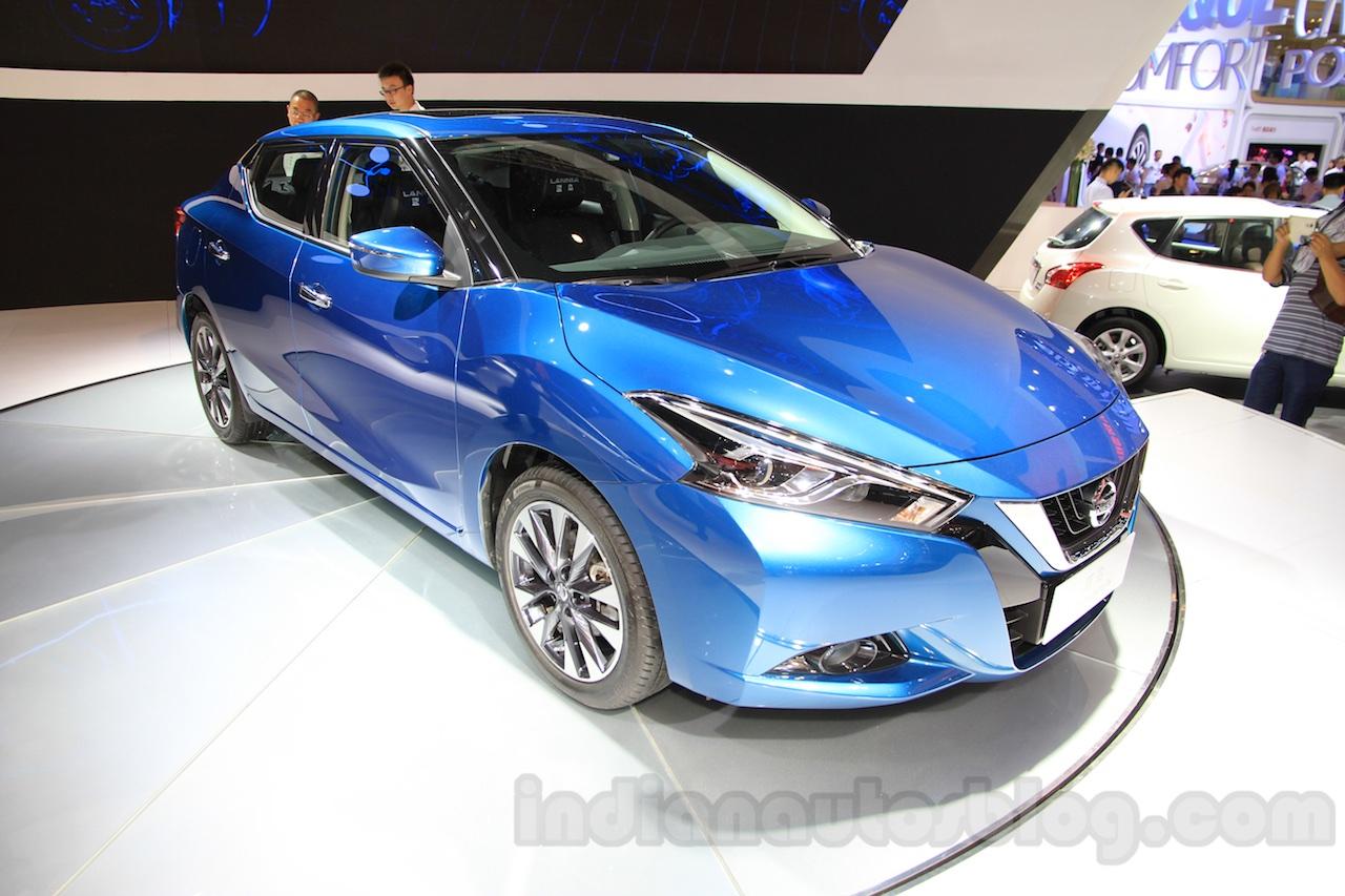 Nissan Lannia front three quarter at the 2015 Chengdu Motor Show