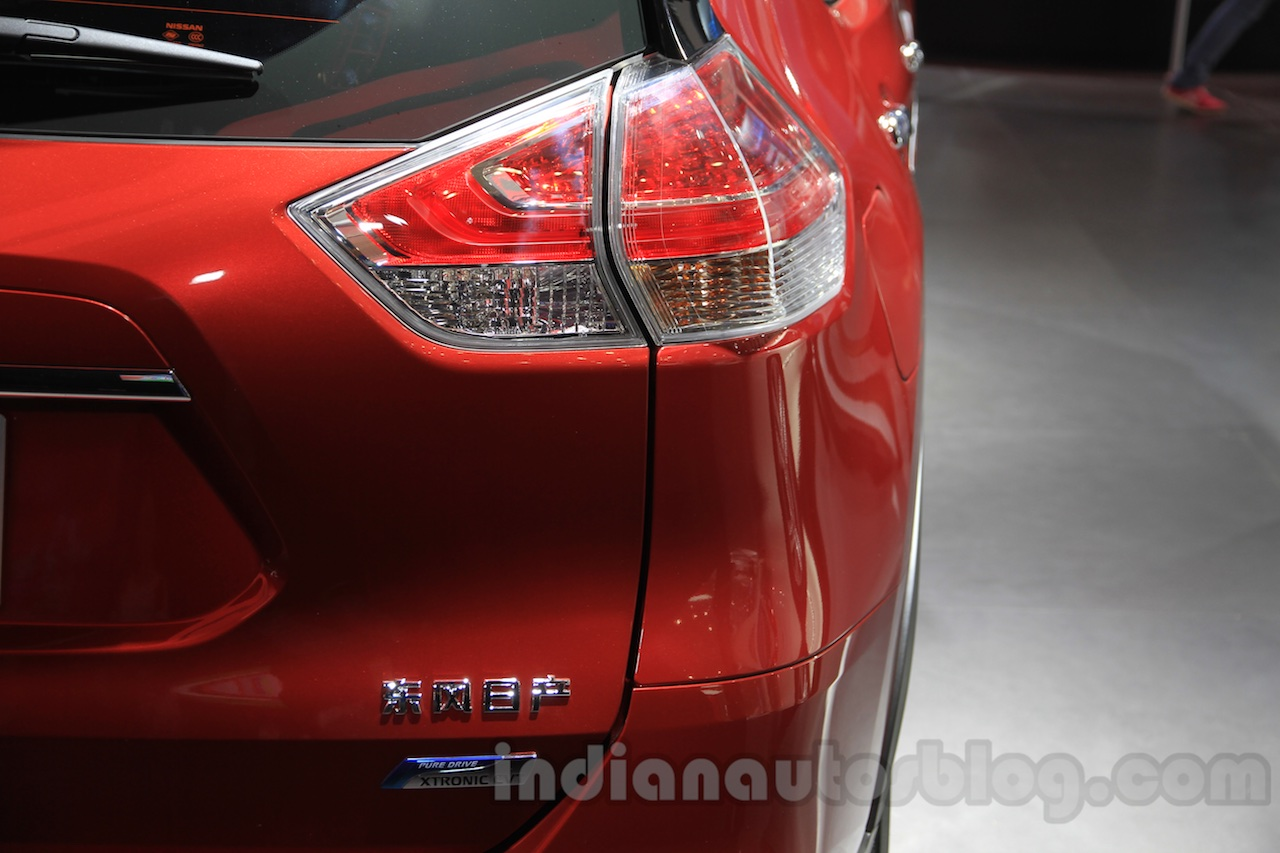 Nissan X-Trail taillight at the 2015 Chengdu Motor Show