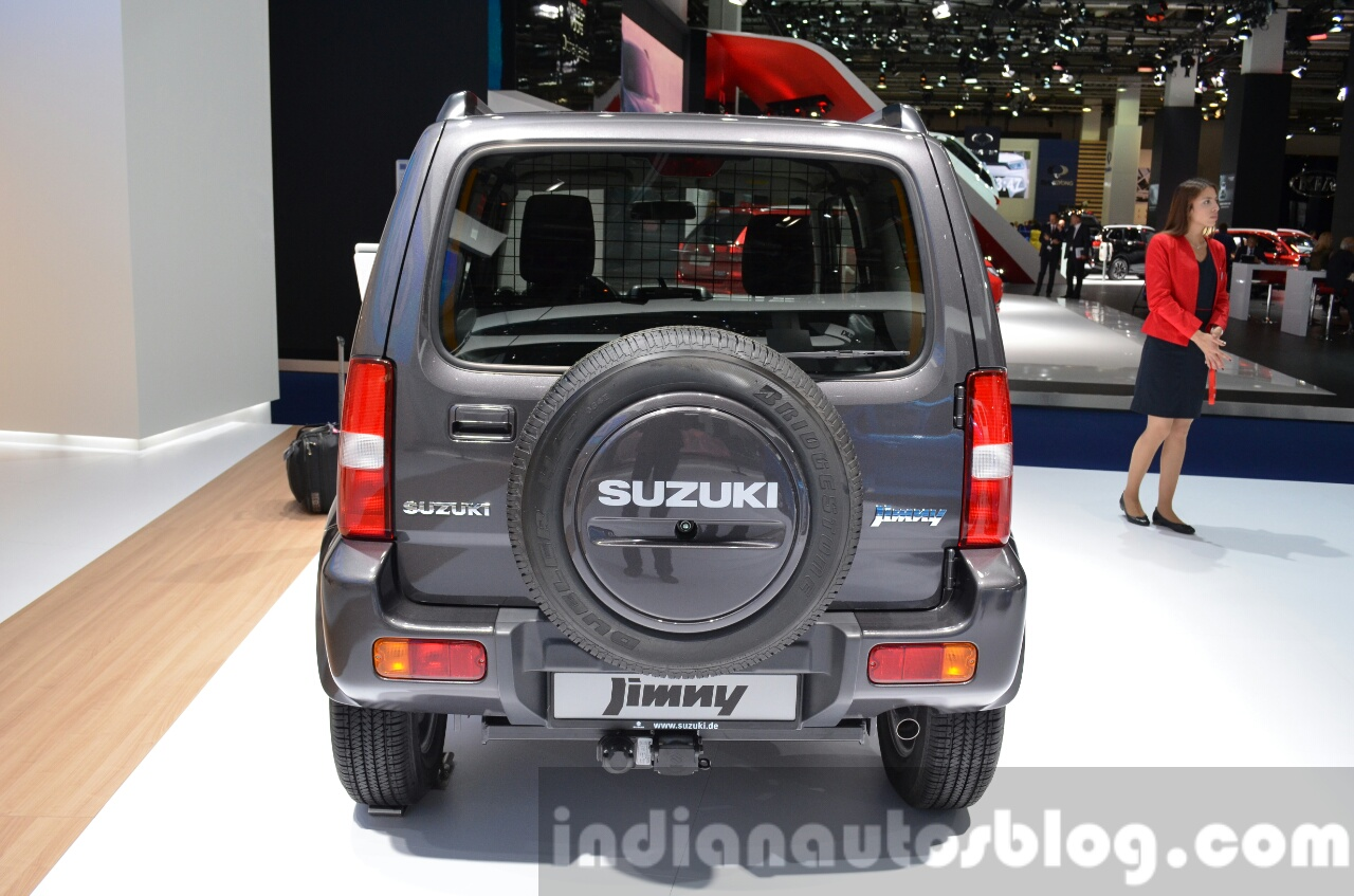 Suzuki Jimny Ranger special edition rear at IAA 2015