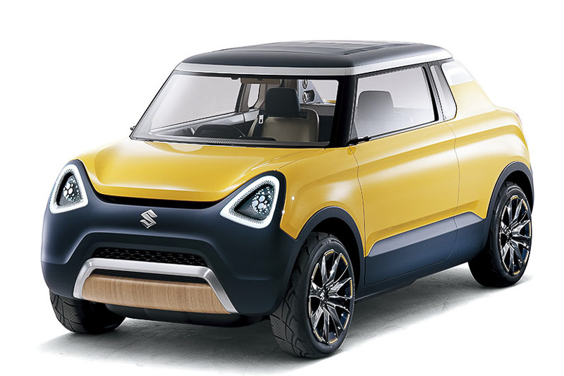 Suzuki Mighty Deck Concept front three quarter unveiled