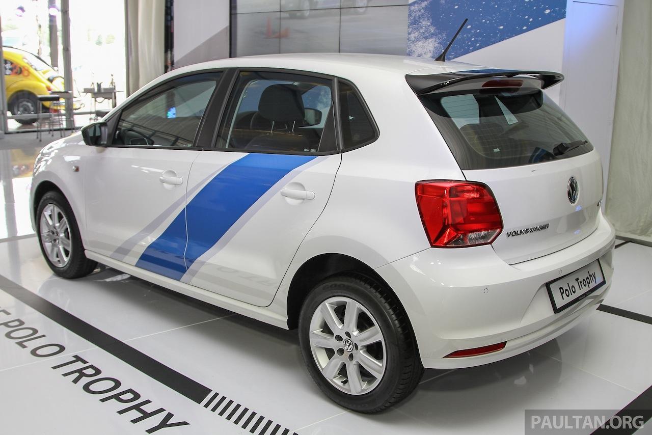 VW Polo Trophy Limited Edition rear three quarter
