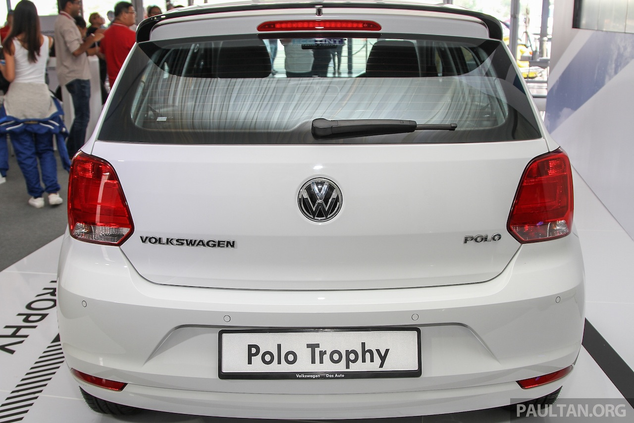 VW Polo Trophy Limited Edition rear