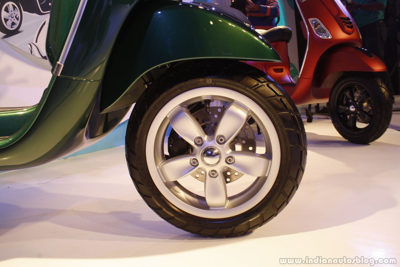 Vespa VXL alloy rim launch Mumbai