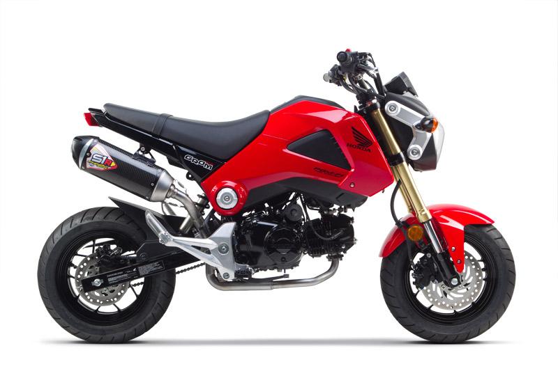 2014 Honda Grom side