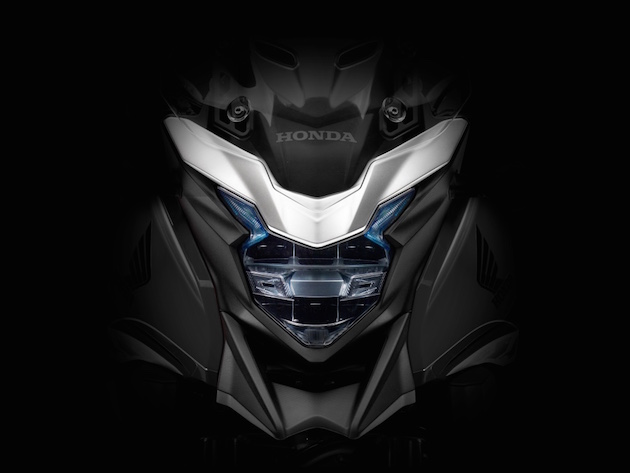 2016 Honda 400X LED head lamp teaser