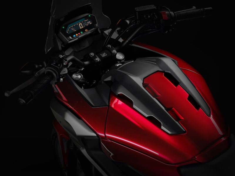 2016 Honda NC750X luggage compartment teaser