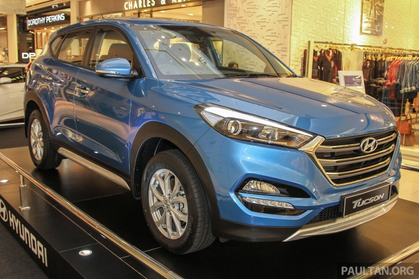 2016 hyundai tucson showcased in malaysia ahead of launch. Black Bedroom Furniture Sets. Home Design Ideas