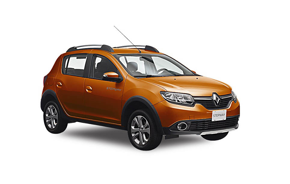 2016 Renault Sandero Stepway (facelift) front three quarter launched at MXN 196,600