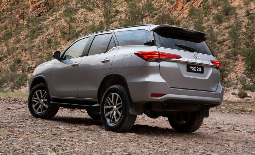 2016 Toyota Fortuner tinted windows launched in Australia