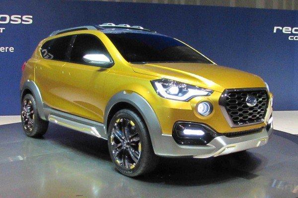 Datsun GO-Cross Concept front three quarter unveiled