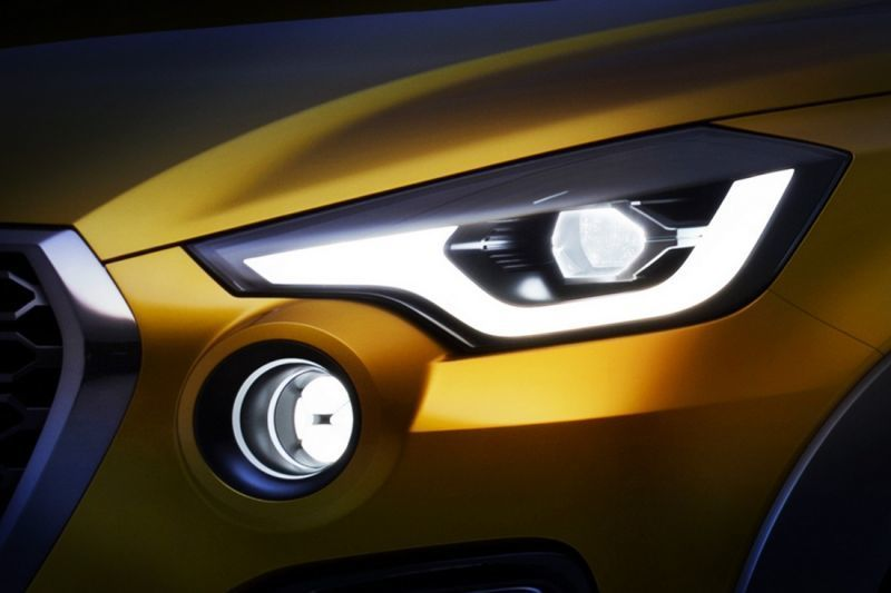 Datsun teases new concept headlamps