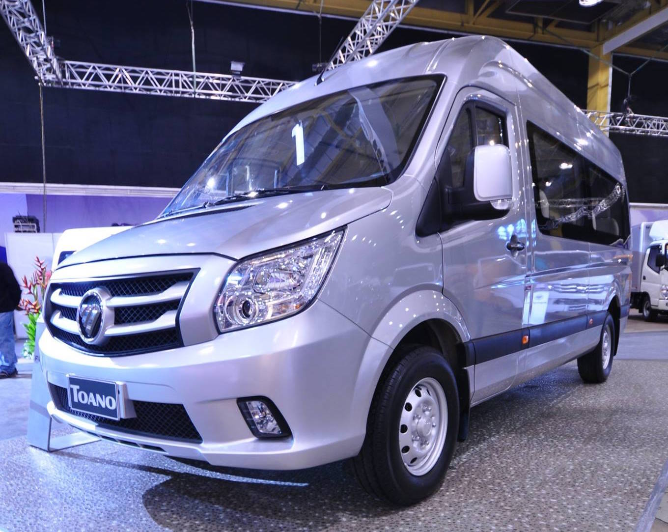 Foton Gratour Foton Toano Vans Launched In Philippines