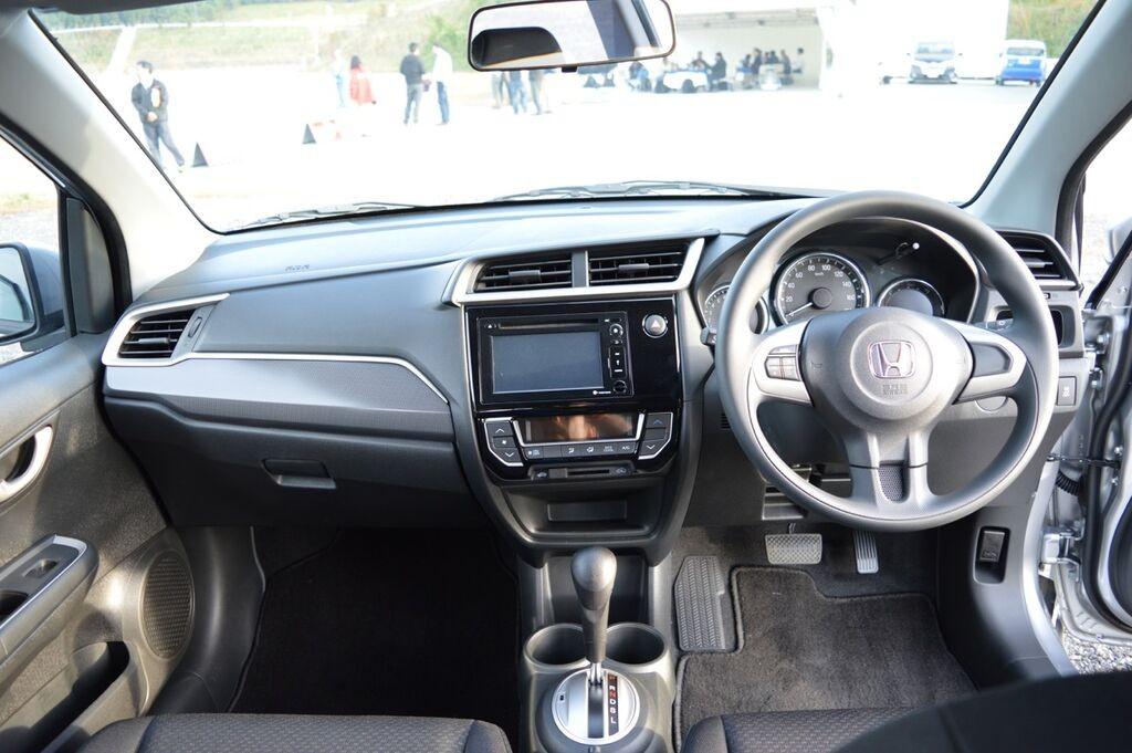 Honda BR-V dashboard Prototype