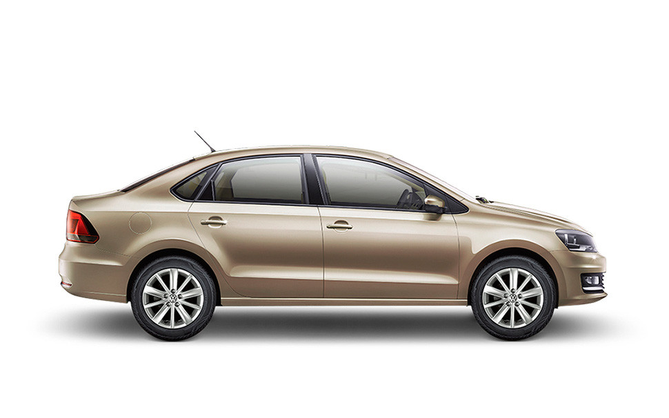 India-made VW Polo sedan Comfortline side launched in South Africa
