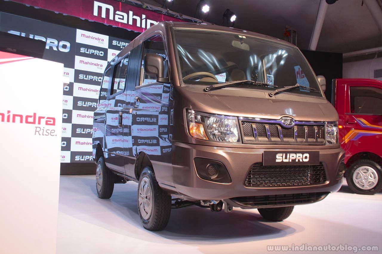Mahindra Supro Van Mahindra Supro Maxitruck Launched