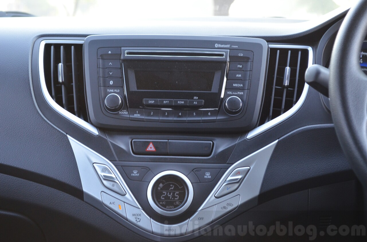 maruti baleno cvt music system review. Black Bedroom Furniture Sets. Home Design Ideas
