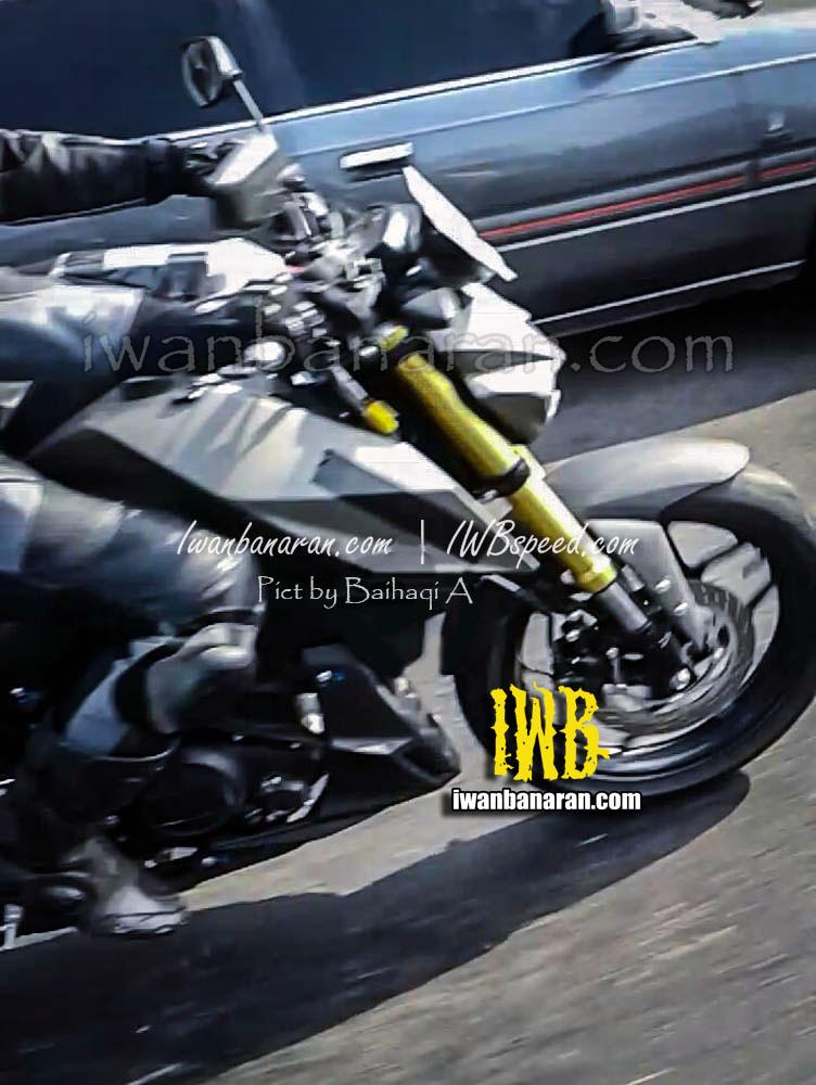Yamaha MT-15 fuel tank spyshot