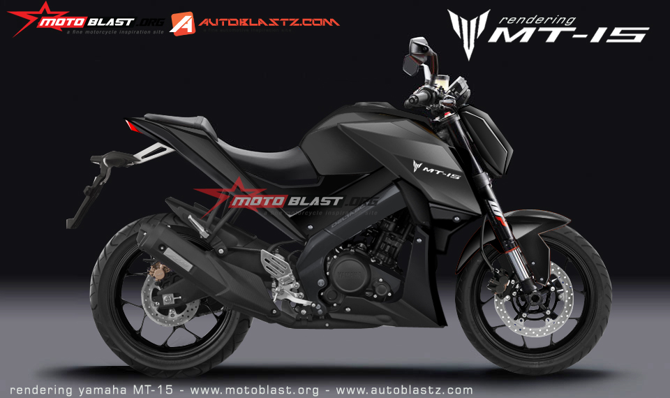 Yamaha MT-15 rendered by MotoBlast
