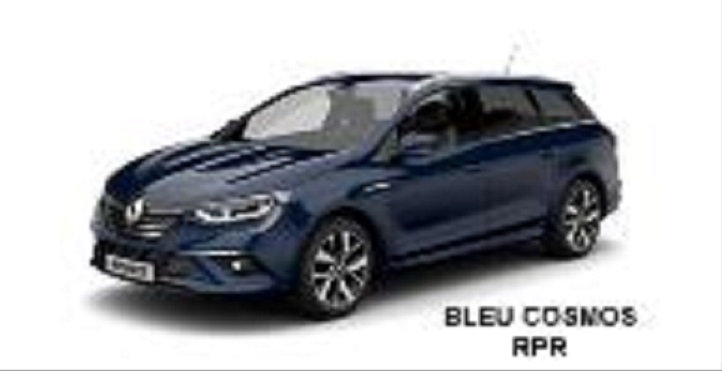 2016 Renault Megane estate front three quarter leaked
