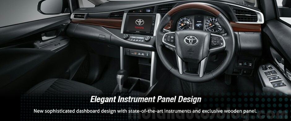 2016 Toyota Innova dashboard press images