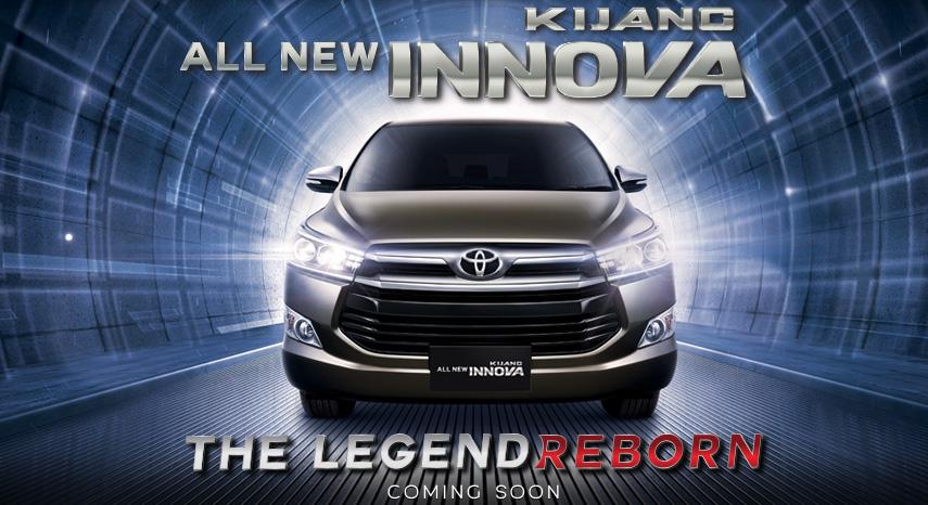 2016 Toyota Innova front teaser released