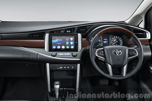 2016 Toyota Innova interior official images leaked