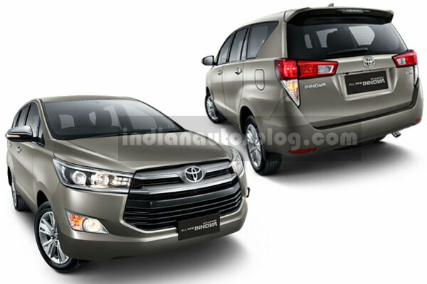 2016 Toyota Innova official images leaked