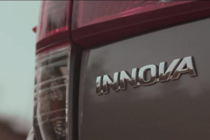 2016 Toyota Innova rear badge