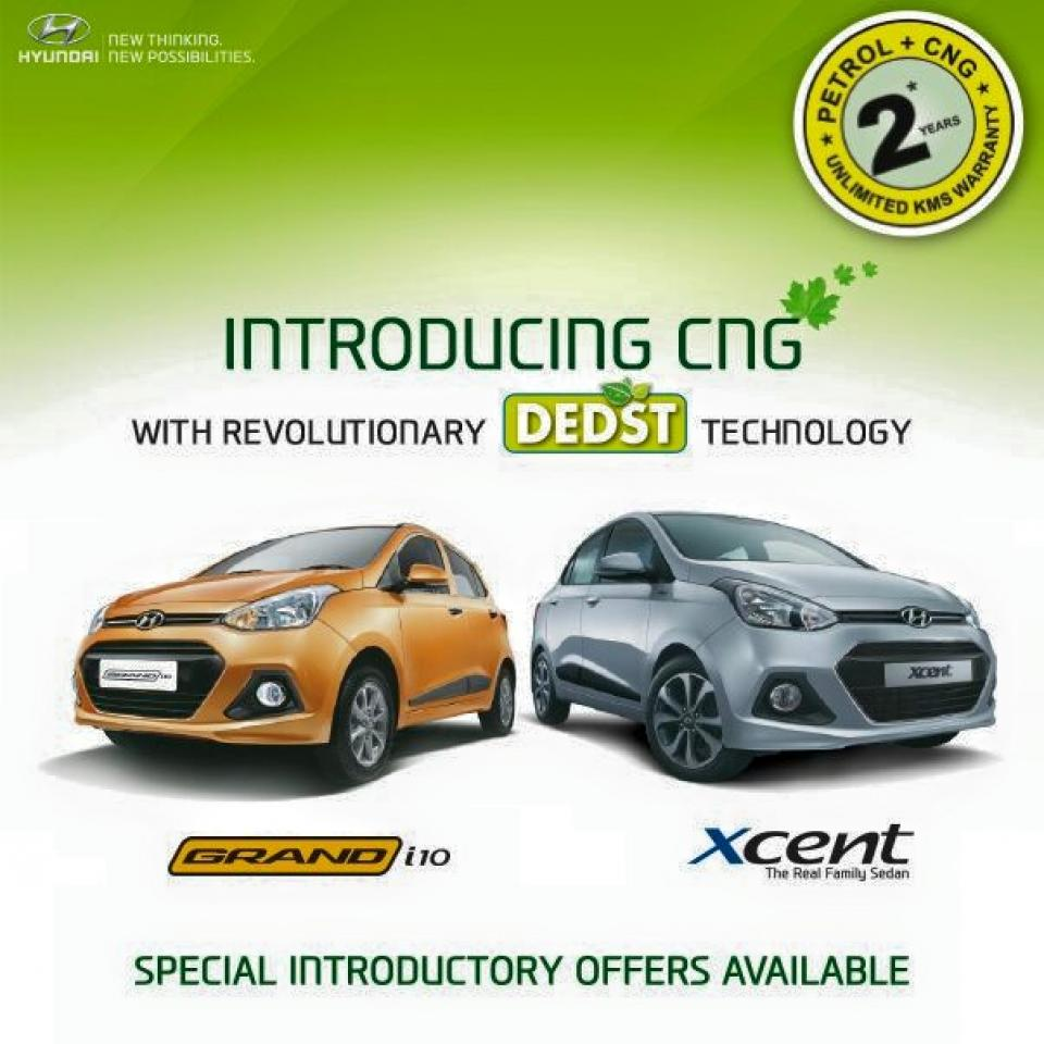 Hyundai Grand i10 Xcent CNG launched in India