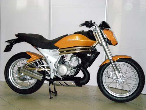 Malaguti MR250 yellow side