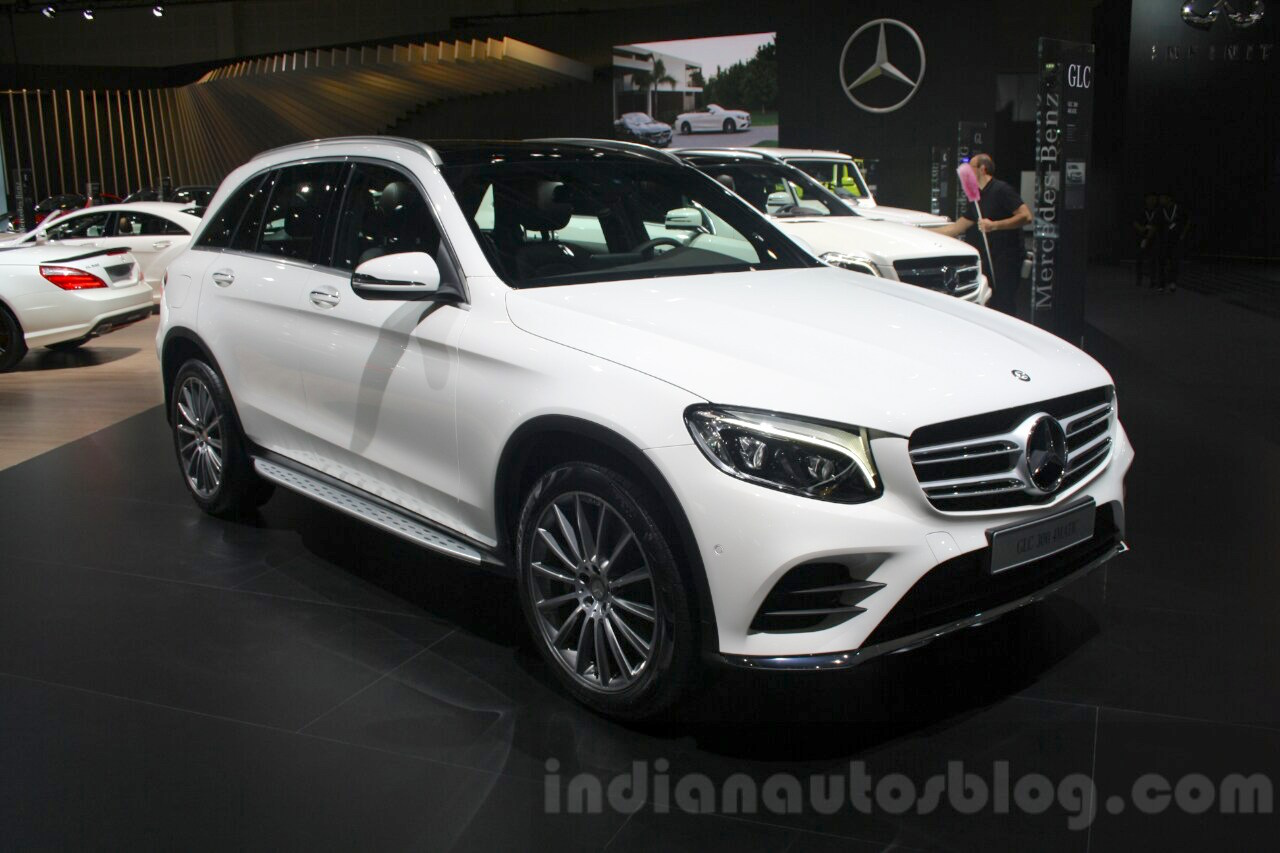 Mercedes GLC front quarter at DIMS 2015