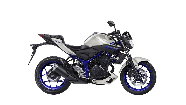 Yamaha MT-03 side unveiled at EICMA 2015