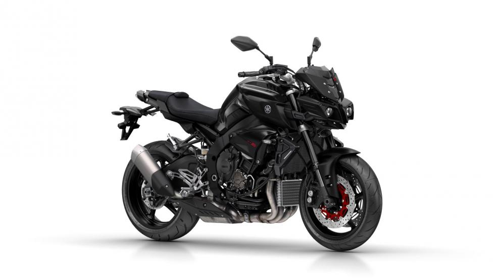 Yamaha MT-10 front quarter unveiled at EICMA 2015