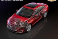 2016 Chevrolet Malibu Hybrid with body