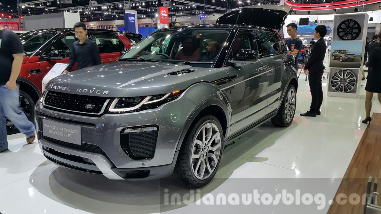 range rover evoque - motorshow focus
