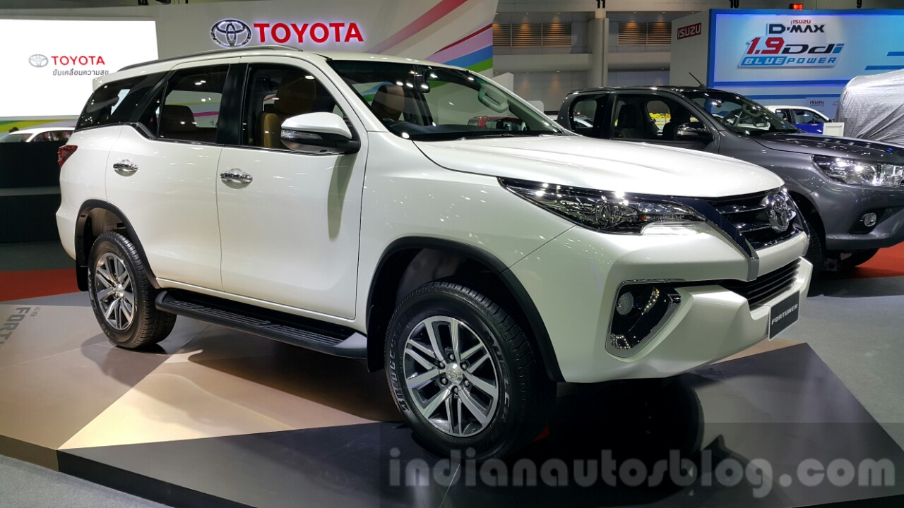 Toyota Chr 2018 Price Philippines >> 2016 Toyota Fortuner front three quarter at 2015 Thailand Motor Expo
