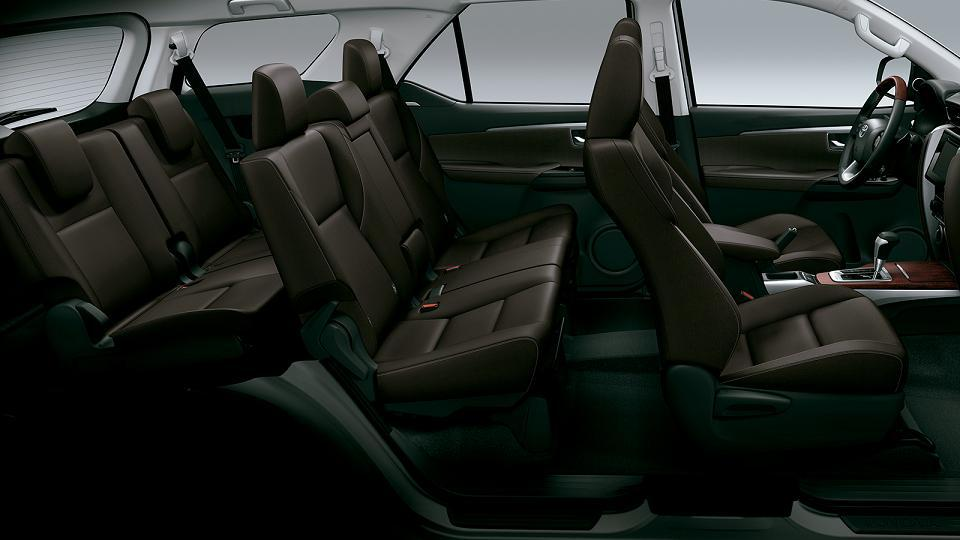 2016 Toyota SW4 (Fortuner) seating launched in Argentina