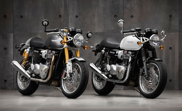 2016 Triumph Bonneville Thruxton and Thruxton R