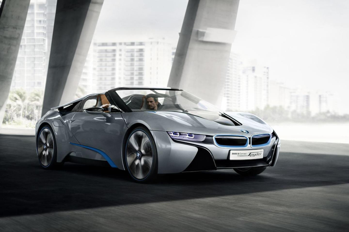 Bmw I8 Spyder Concept Headed For Production Report