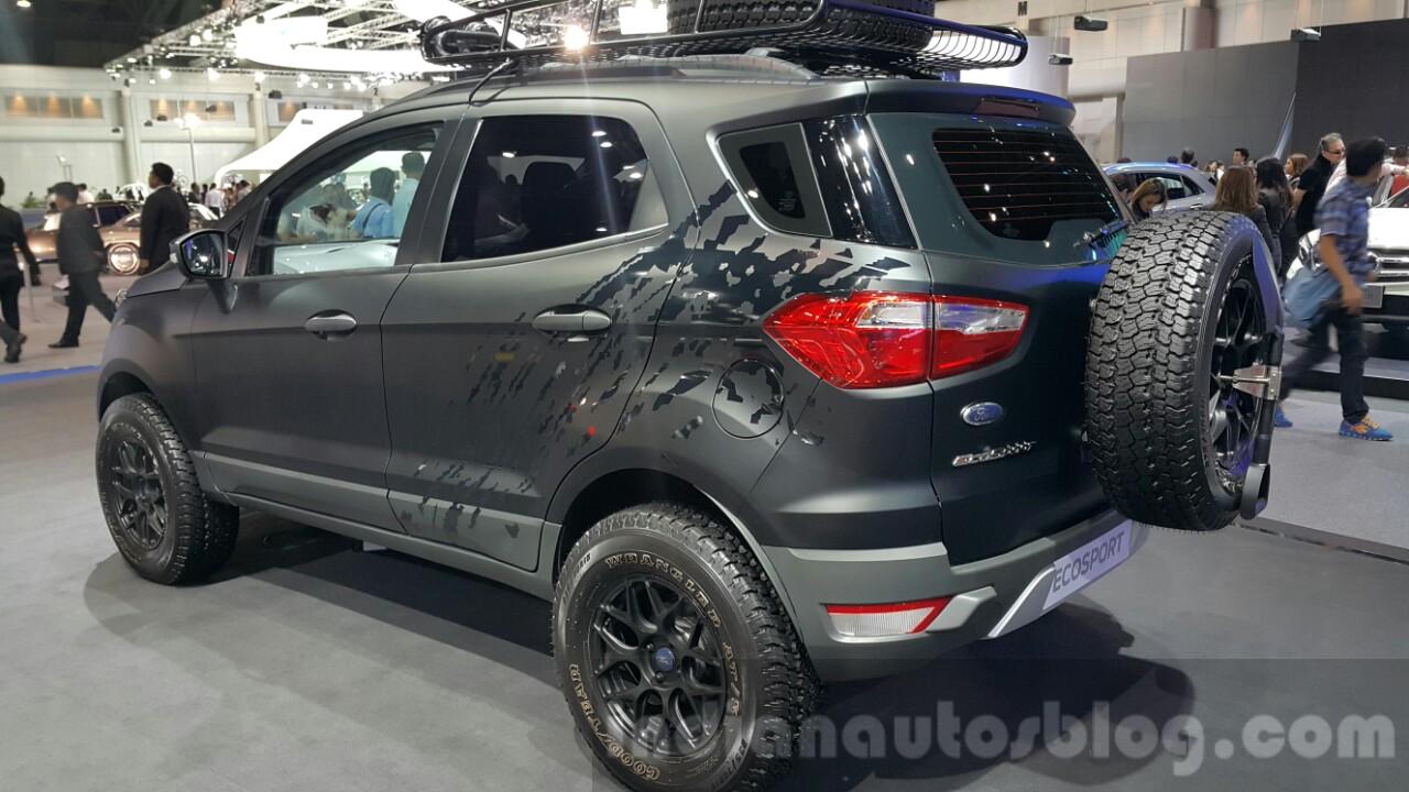 Ford Ecosport Custom Motorshow Focus 11 Pics
