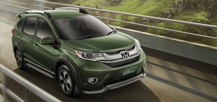 Honda BR-V Green Indonesia