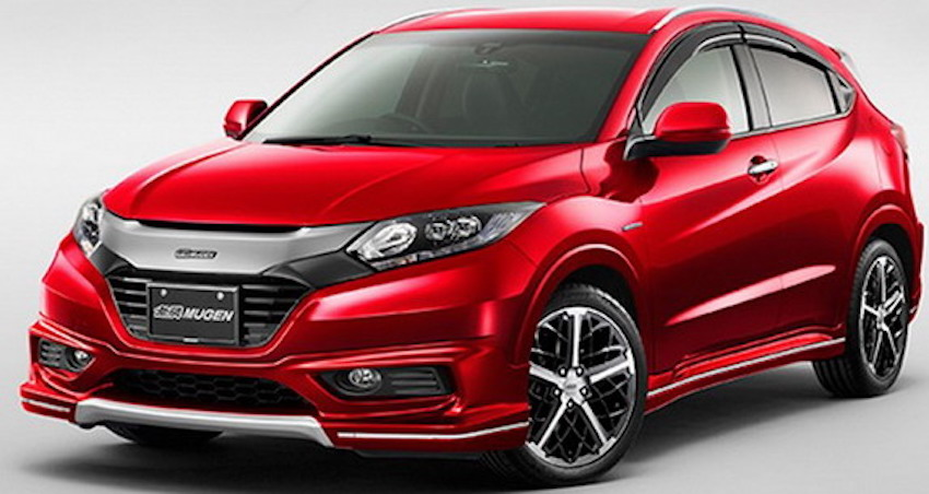 Honda Vezel Mugen front revealed